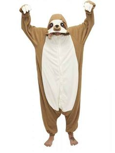 And of course, this amazing sloth onesie.