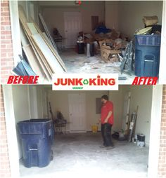It was a Tubular Tuesday here at Junk King! Is that honey do list a mile long but there are not enough hours in a day to do it all? Let us help you out! We can come help clean out that garage or get some yard waste out of your yard. Whatever we can do to make your job easier we are there! So give us a call today! In the meantime check out this awesome before and after! #junk #junkremoval #garagecleanout #greatservice #springcleaning #beforeandafter