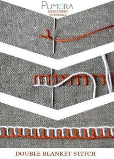 Декоративные швы. В копилку рукодельницам