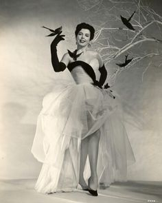 anne miller  One of the best tappers ever.  Loved her.