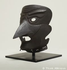 European executioner's mask, pre 1700  ...ugh....maybe this is why I'm afraid of birds...past lives?