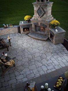 Best Fireplace Design Fireplaces are extremely dangerous. An outdoor fireplace will help to modify the look of a home and garden. Outdoor masonry fireplaces made from brick provide a conventional look. Outdoor Rooms, Outdoor Living, Outdoor Decor, Outdoor Patios, Rustic Outdoor Kitchens, Outdoor Areas, Outdoor Fireplace Designs, Outdoor Fireplaces, Backyard Fireplace