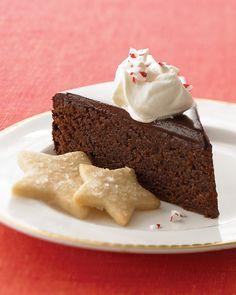 Chocolate-Peppermint Cake Recipe.