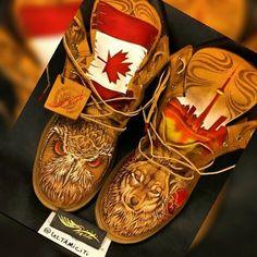 Art design by #ultamiciti  #talent #timberlands #timberland #boots #dope #art…