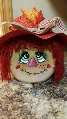 Cutie scarecrow I made from Tide Container. By Marie Bebeau Cutie scarecrow I made from Tide Container. By Marie Bebeau Thanksgiving Crafts, Fall Crafts, Holiday Crafts, Arts And Crafts, Fall Halloween, Halloween Crafts, Tide Pods Container, Scarecrow Face, Scarecrow Wreath