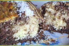 Préchauffez le four à 200°C. Dans un saladier, versez le contenu du yaourt nature et servez vous du pot comme contenant. Versez les autres ingrédients dans l'ordre, sauf la noix de coco, le yaourt au chocolat et le chocolat. Mélangez bien jusqu'à -...