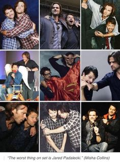 Jared Padalecki & Misha Collins