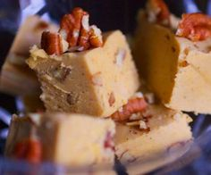 Pumpkin Cheesecake and Bacon Maple Butter
