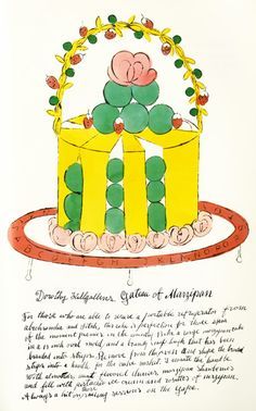 Cake by Andy Warhol