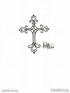 Small Cross Tattoos For Women | Small Cross Tribal Tattoo | Tattoo Tabatha – Fr'o'blog - Click for More...