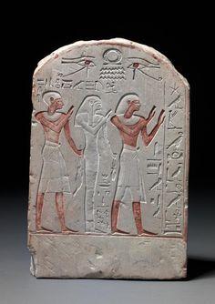 "theancientwayoflife: "" ~Votive stela of Amenemope. 1479 BC-1425 BC Egypt, Mageb """