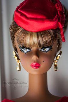 Little Red Dress Silkstone Barbie.  ©2015 Inside The Fashion doll Studio