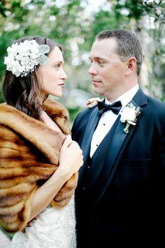 Winter Wedding Fur, Winter Wedding Bridesmaids, Winter Bride, Winter Wonderland Wedding, Brides And Bridesmaids, Wedding Beauty, Luxury Wedding, Dream Wedding, Vintage Fur
