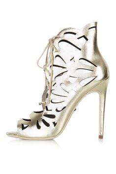 RAVISH Laser-Cut Sandals - View All - Shoes - Topshop