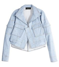 Derek Lam Cropped Utility Jacket - ShopBAZAAR