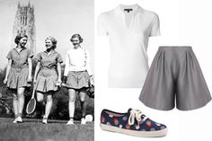 Love. But where do I keep my backup tennis ball? How to Master the Preppy Look - 7 Sisters Style - Elle