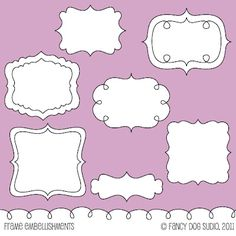 Fancy Dog's Frames and Borders