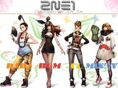 this is 2ne1 the n and e stand for new evolution the 21 is when they first started the group at age 21.
