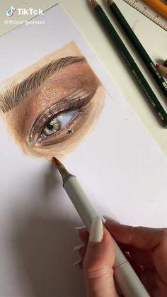 Cool Art Drawings, Pencil Art Drawings, Realistic Drawings, Art Drawings Sketches, Notebook Art, Wow Art, Color Pencil Art, Beauty Art, Art Sketchbook
