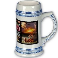 Leo Virgo cusp large blue trim astrology Mugs by valxart for $16.70 is one of 720  designs for 60 years of Chinese zodiac combined with 12 zodiac designs and forecast ,each used on several products . Valxart has designs on 12 zodiac cusp and 60 years of chinese zodiac designs. If you do not see desired year and zodiac sign contact Valxart at mailto:info@valx.us for links to desired images. valxart -   interested  ? Go for it