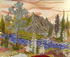 Картины из лепестков цветов и листьев