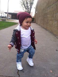 He has more swag that I do, too cute.💖💕💖