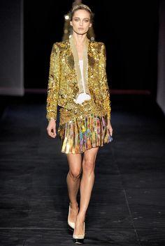 Roberto Cavalli Spring 2012 Ready-to-Wear Fashion Show - Karmen Pedaru