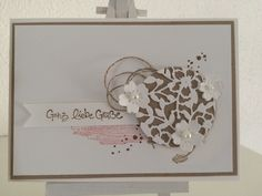 Paper-and-More : StampinUp - blühendes Herz