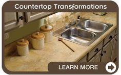 redo the kitchen countertops