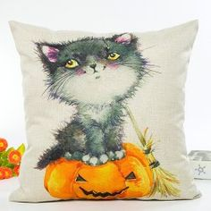SHARE & Get it FREE | Halloween Cat Witch Pumpkin Car Sofa Cushion Pillow CaseFor Fashion Lovers only:80,000+ Items • New Arrivals Daily • Affordable Casual to Chic for Every Occasion Join Sammydress: Get YOUR $50 NOW!