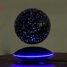 YANGHX Magnetic Levitation Floating Colorful Globe Map Stars LED Night Lights Suspending In The Air ( 6 inch ) >>> Click image for more details. (This is an affiliate link) Cute Room Decor, Room Decor Bedroom, My New Room, My Room, Floating Globe, Galaxy Room, Magnetic Levitation, Led Night Light, Night Lights