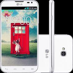 Smartphone LG L70 D325 Dual Chip Desbloqueado Android 4.4 Tela 4.5 4GB 3G Wi-Fi Câmera 8MP - Branco