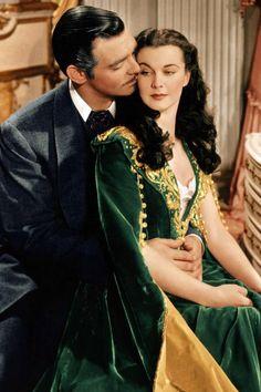 Scarlett O'Hara and Rhett Butler - Gone With the Wind