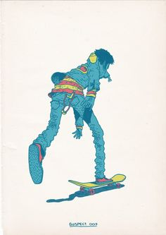 Skateboarding is a Crime on Behance