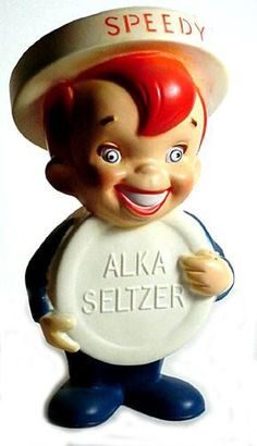 One of the first TV Commercials I remember...plop, plop, fizz fizz, oh what a relief it is...  :)