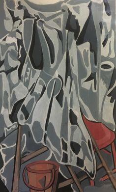#374, gouache, 1983, 8,5'' x 14'', 50$