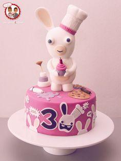 Raving Rabbids Cake BWAAAAAH!!!