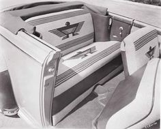 """...Chrysler New Yorker """"Navajo""""...just adore that upholstery...!"""