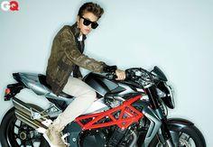 Bieber on a Bike