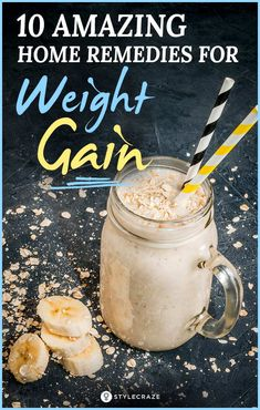 protein shake to gain muscle Top 10 Amazing Home Remedies For Weight Gain Ways To Gain Weight, Weight Gain Journey, Gain Weight Fast, Weight Gain Meals, Healthy Weight Gain, Weight Gain Meal Plan, Lose Weight Naturally, Weight Loss Drinks, Losing Weight