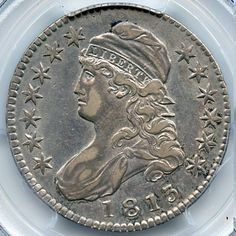Harry Laibstain Rare Coins has this item on Collectors Corner - 1813 50C XF40 PCGS