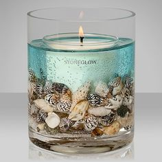 Buy Stoneglow Nature's Gift Ocean Scented Gel Candle from our Candles range at John Lewis & Partners. Gel Candles, Mason Jar Candles, Candle Centerpieces, Scented Candles, Buy Candles Online, Candle Packaging, Candlemaking, Homemade Candles, Scrappy Quilts