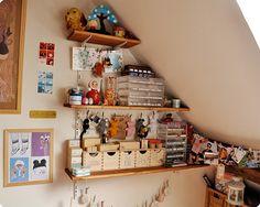 Memi the Rainbow's craft room.