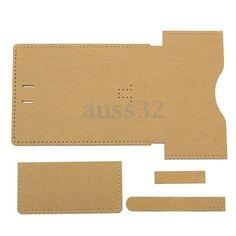 Самодельный акриловые кожаный шаблон набор инструментов для бумажник Кожевенное Ремесло узор