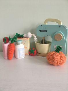 Crochet Food, Play Houses, Etsy, Dollhouses