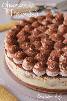 Cheesecake Tiramisù,ricetta golosa - Dolcissima Stefy