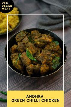 Green Chilli Chicken Recipe, Spicy Chicken Recipes, Curry Recipes, Chaat Recipe, Biryani Recipe, Indian Food Recipes, South Indian Chicken Recipes, Indian Chicken Dishes, Indian Dishes