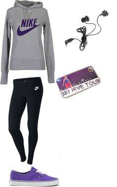 """lazy day at school"" by shelbylbailey ❤ liked on Polyvore"