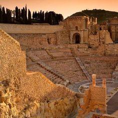 Teatro romano de Cartagena #Murcia