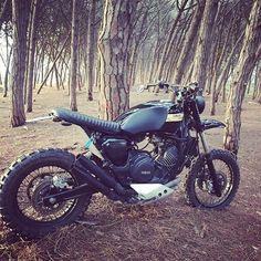 Yamaha XTZ750 by @pikulcz. For sale! #yamaha #xtz750 #scrambler